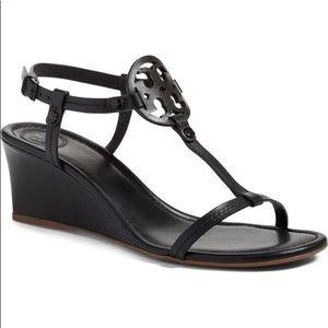 Tory Burch Miller Wedge Sandals